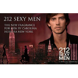 Carolina Herrera 212 Sexy Men Perfume Eau De Toilette, 100ml