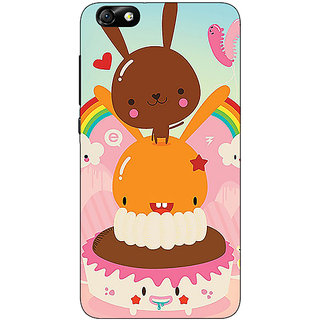 Enhance Your Phone Cartoons Back Cover Case For Huwaei Honor 4X