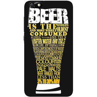 Enhance Your Phone Beer Quote Back Cover Case For Huwaei Honor 4X