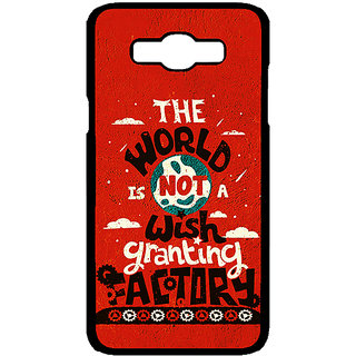 Enhance Your Phone TFIOS Wish Granting Factory  Back Cover Case For Samsung Galaxy J7