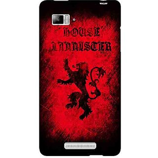 Enhance Your Phone Game Of Thrones GOT House Lannister  Back Cover Case For Lenovo K910