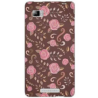 Enhance Your Phone Soft Roses Pattern Back Cover Case For Lenovo K910
