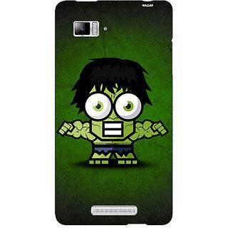 Enhance Your Phone Big Eyed Superheroes Hulk Back Cover Case For Lenovo K910