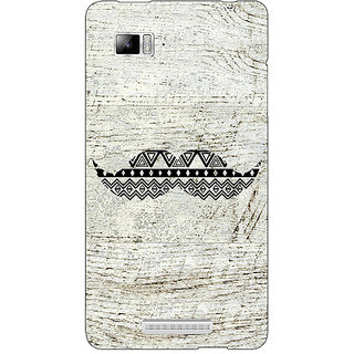 Enhance Your Phone Mustache Back Cover Case For Lenovo K910