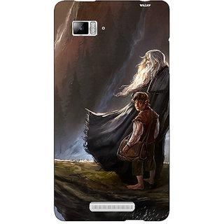Enhance Your Phone LOTR Hobbit Gandalf Back Cover Case For Lenovo K910
