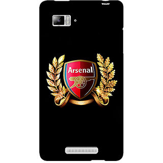 Enhance Your Phone Arsenal Back Cover Case For Lenovo K910