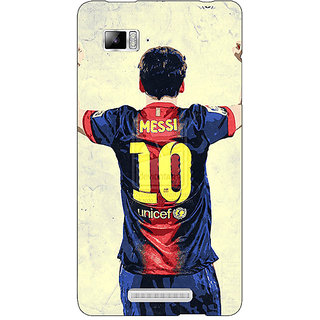 Enhance Your Phone Barcelona Messi Back Cover Case For Lenovo K910