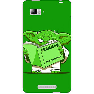 Enhance Your Phone Grammar Yoda Back Cover Case For Lenovo K910
