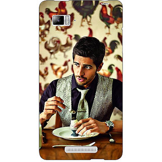 Enhance Your Phone Bollywood Superstar Siddharth Malhotra Back Cover Case For Lenovo K910