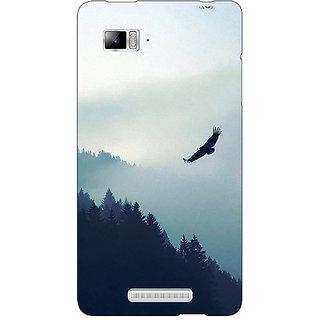 Enhance Your Phone Mountains Valleys Back Cover Case For Lenovo K910