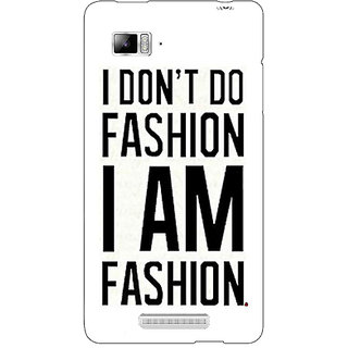Enhance Your Phone Fashion Quote Back Cover Case For Lenovo K910