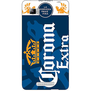 Enhance Your Phone Corona Beer Back Cover Case For Lenovo K910