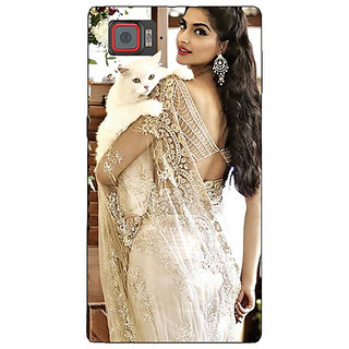 Enhance Your Phone Bollywood Superstar Sonam Kapoor Back Cover Case For Lenovo K920