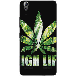 Enhance Your Phone Weed Marijuana Back Cover Case For Lenovo A6000