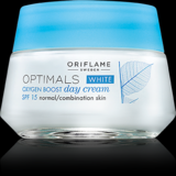 Optimals White Oxygen Boost Day Cream SPF 15 Normal/Combination Skin 50ml
