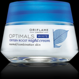 Optimals White Oxygen Boost Night Cream Normal/Combination Skin 50ml