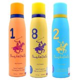 Beverly Hills Polo Club Women Deodorant 1,8,2 -1200 Sprays