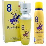Beverly Hills Polo Club Women EDP Perfume No.8 & Deodorant No 8