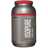 NatureS Best Isopure Zero Carb- 3 Lbs Strawberry Cream
