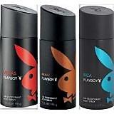 Playboy Deodorant Spray 3 Pcs (Miami,Vegas,Ibiza)- 150 Ml