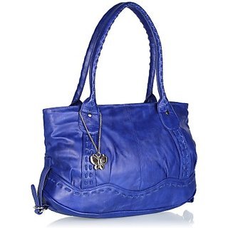 Butterflies Blue Handbag