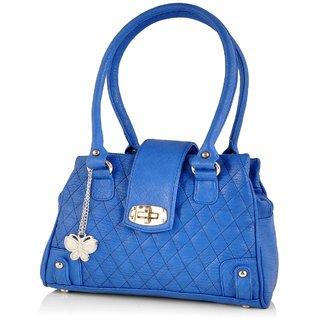 Butterflies Blue Shoulder Bag