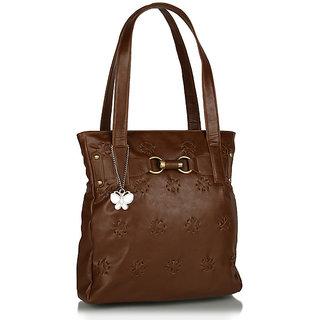 Butterflies Rust Handbag