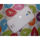 SGP Glossy Hard Back Case Cover Pouch For Micromax Canvas Magnus A117 -White