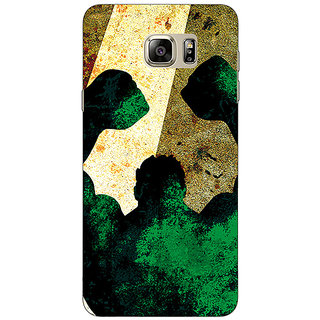 Enhance Your Phone Superheroes Hulk Back Cover Case For Samsung S6 Edge+