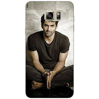 Enhance Your Phone Bollywood Superstar Aditya Roy Kapoor Back Cover Case For Samsung S6 Edge+