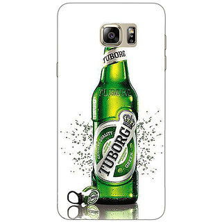 Enhance Your Phone Tuborg Beer Back Cover Case For Samsung S6 Edge+