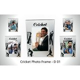 D01 IDEALS DESIGNER CRICKET PHOTOFRAME MODEL D1 - India Breathes Cricket. A Cricket Theme Photo Frame Designed For The People Of A Cricket Obsessed Nation Go India Go!