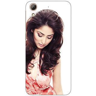 Enhance Your Phone Bollywood Superstar Jacqueline Fernandez Back Cover Case For HTC Desire 626