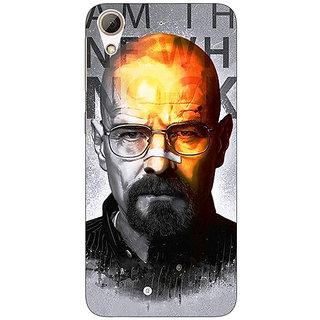 Enhance Your Phone Breaking Bad Heisenberg Back Cover Case For HTC Desire 626G+