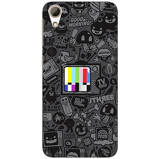 Enhance Your Phone Colour TV Back Cover Case For HTC Desire 626