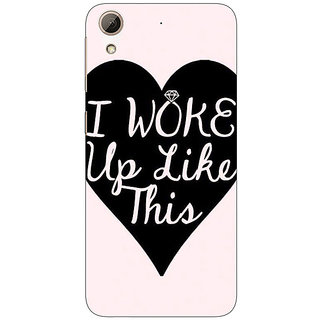 Enhance Your Phone Quotes Beautiful Back Cover Case For HTC Desire 626G