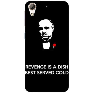 Enhance Your Phone The Godfather Back Cover Case For HTC Desire 626G