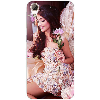 Enhance Your Phone Bollywood Superstar Shraddha Kapoor Back Cover Case For HTC Desire 626G
