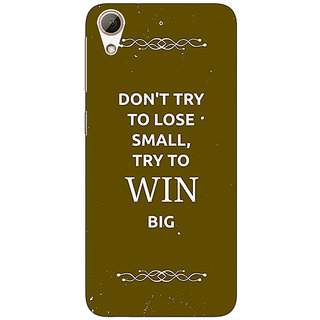 Enhance Your Phone SUITS Quotes Back Cover Case For HTC Desire 626G
