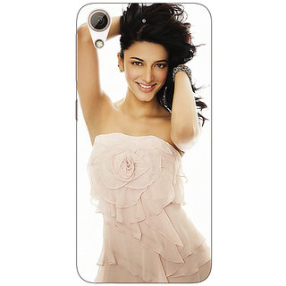 Enhance Your Phone Bollywood Superstar Shruti Hassan Back Cover Case For HTC Desire 626G+