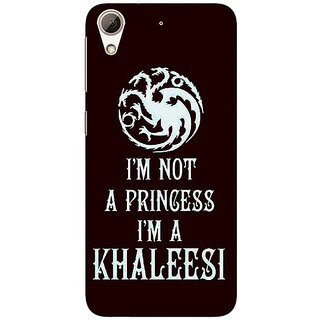 Enhance Your Phone Game Of Thrones GOT Princess Khaleesi Back Cover Case For HTC Desire 626S