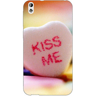 Enhance Your Phone Kiss me  Back Cover Case For HTC Desire 816 Dual Sim