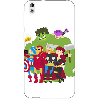 Enhance Your Phone Superheroes Baby Avengers Back Cover Case For HTC Desire 816G