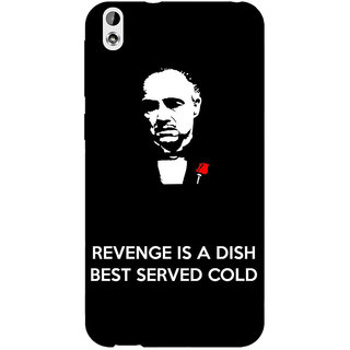 Enhance Your Phone The Godfather Back Cover Case For HTC Desire 816G