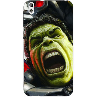 Enhance Your Phone Super Heroes Hulk Age of Ultron Back Cover Case For HTC Desire 816 Dual Sim