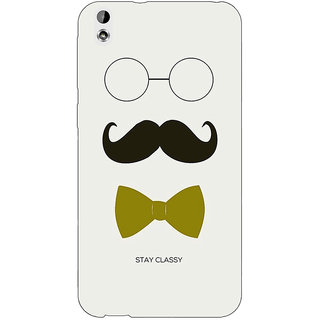 Enhance Your Phone Mustache Back Cover Case For HTC Desire 816G