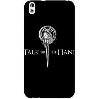 Enhance Your Phone Game Of Thrones GOT Hand Of The King Back Cover Case For HTC Desire 816G