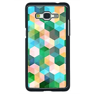 Enhance Your Phone Green Hexagons Pattern Back Cover Case For Samsung Galaxy J5 E630276