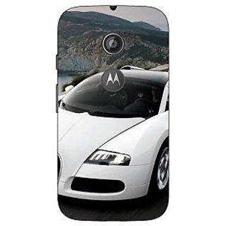 Enhance Your Phone Super Car Bugatti Back Cover Case For Moto E2 E650628