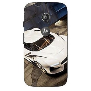 Enhance Your Phone Super Car Aston Martin Back Cover Case For Moto E2 E650629